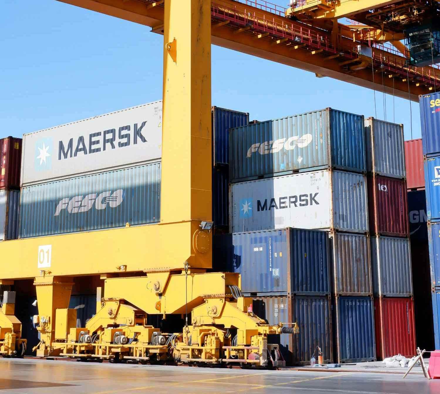 Экспортные перевозки в Россию