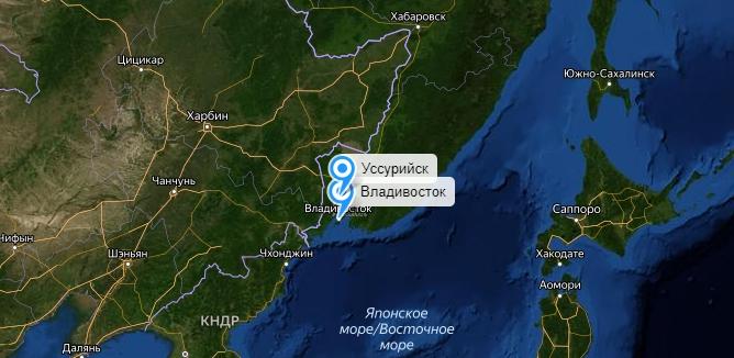 Грузоперевозки Владивосток-Уссурийск